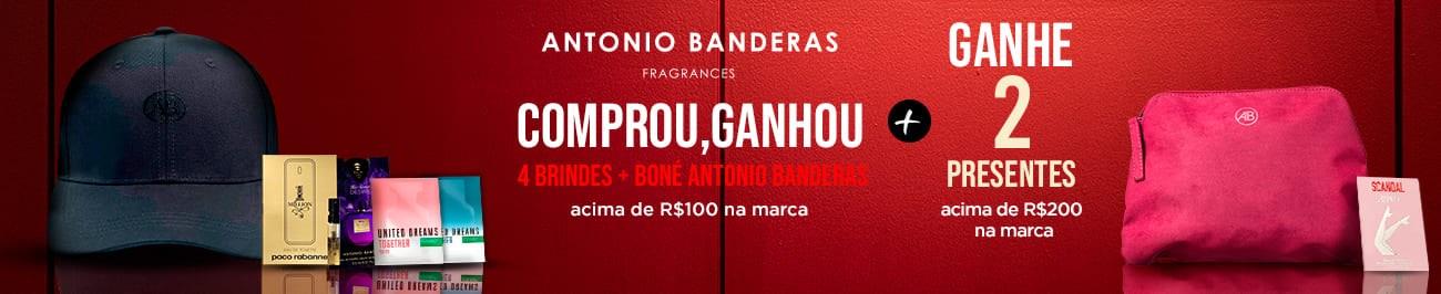 Perfumes Antonio Banderas - Os Melhores Preços em Até 10x Sem Juros