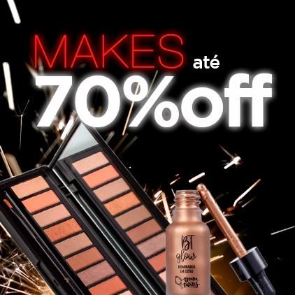 Maquiagem Até 70% Off