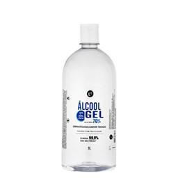 Álcool Gel Antisséptico 70% - Light Hair - 1 Litro