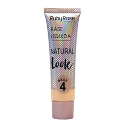Base Líquida Natural Look Bege Ruby Rose - 29ml