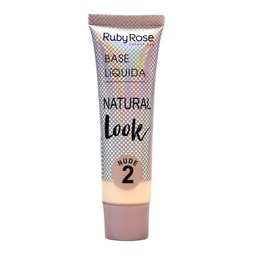 Base Líquida Natural Look Nude Ruby Rose - 29ml