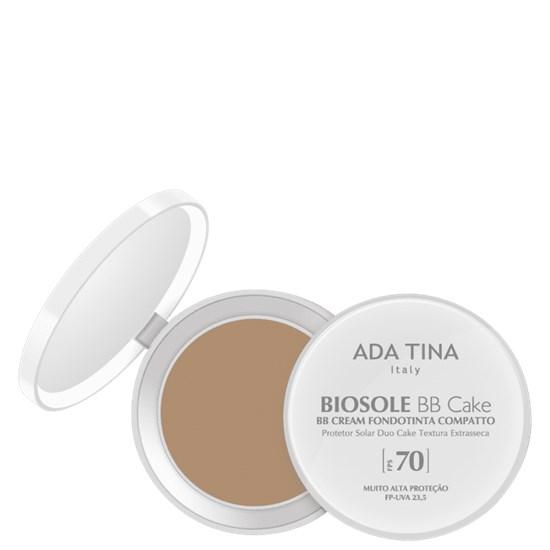BB Cream Antienvelhecimento Biosole BB Cake com Protetor Solar Facial FPS 70 - Ada Tina - Miele 35