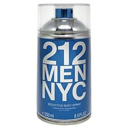 Body Spray 212 NYC Men Seductive - Carolina Herrera - Masculino - 250ml