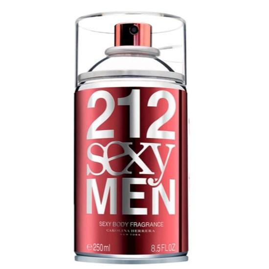 Body Spray 212 Sexy Men - Carolina Herrera - Masculino - 250ml