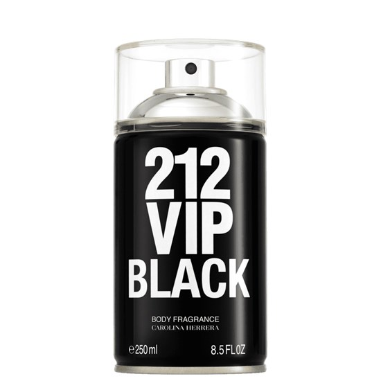 Body Spray 212 VIP Black - Carolina Herrera - Masculino - 250ml