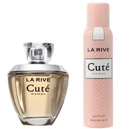 Conjunto Cuté Woman - La Rive - Feminino - Perfume EDP 100ml + Desodorante 150ml