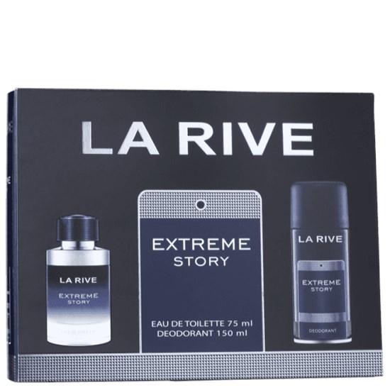 Conjunto Extreme Story - La Rive - Masculino - Perfume 75ml + Desodorante 150ml