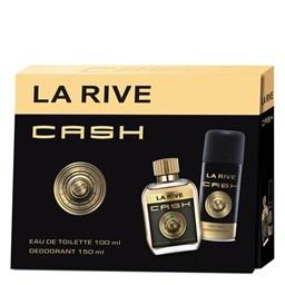 Conjunto Perfume Cash - La Rive - Masculino - Perfume EDT 100ml + Desodorante 150ml