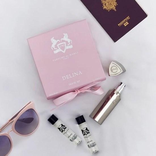 Conjunto Travel Set Delina - Parfums de Marly - Eau de Parfum - 3x10ml + P.Perfume