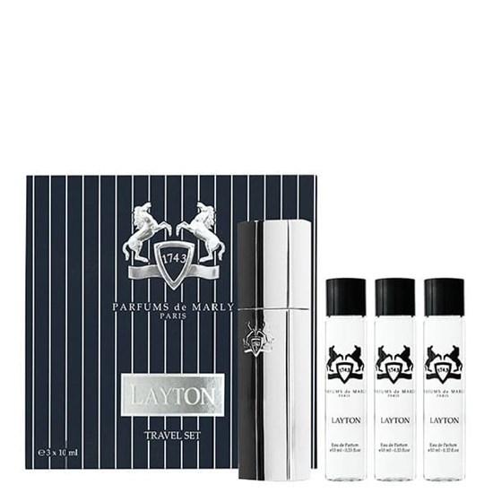 Conjunto Travel Set Layton - Parfums de Marly - Eau de Parfum - 3x10ml