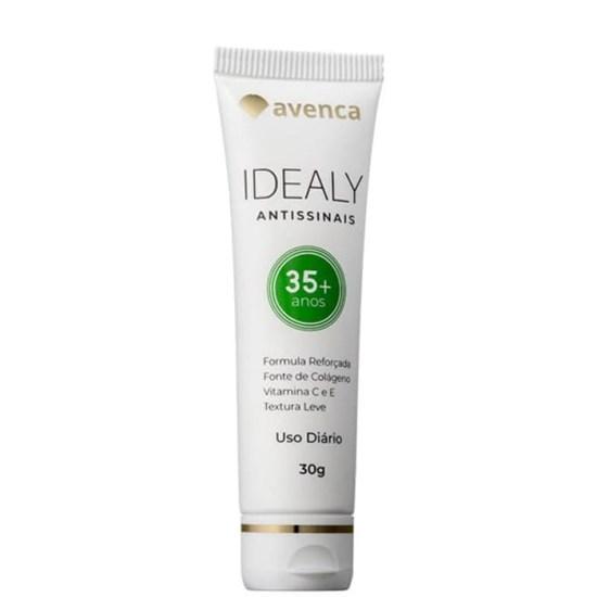 Creme Anti-Idade Idealy 35+ Antissinais - Avenca - 30g