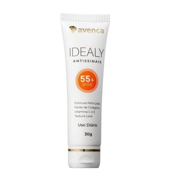 Creme Anti-Idade Idealy 55+ Antissinais - Avenca - 30g