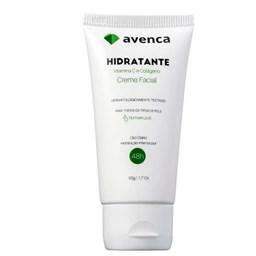 Creme Hidratante Facial Vitamina C e Colágeno - Avenca - 50g