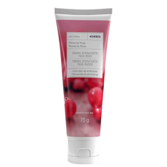 Creme Hidratante para as Mãos - Pimenta Rosa - Korres - 75g