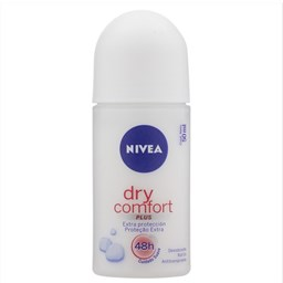 Desodorante Antitranspirante Roll-On Dry Comfort Plus - Nivea - 50ml