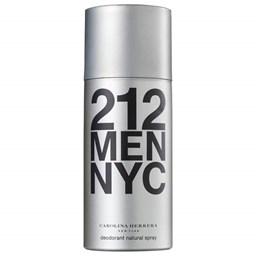Desodorante Spray Masculino 212 Men - Carolina Herrera - Masculino - 150ml