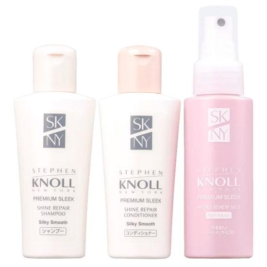 Discovery Set Shine Repair Silky Smooth - Stephen Knoll - 3 Produtos