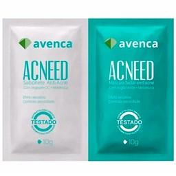 Kit Antiacne Acneed - Avenca - 2 Sachesx10g