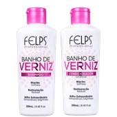 Produto Kit Banho de Verniz - Felps Profissional - Shampoo + Condicionador - 250ML