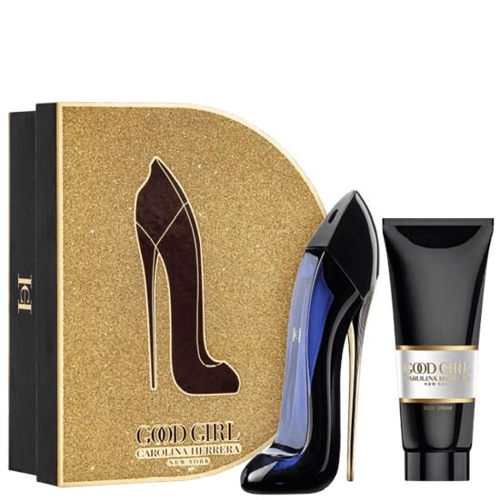 Kit Coffret Good Girl - Carolina Herrera - Feminino - Perfume 80ml + Creme Corporal 100ml