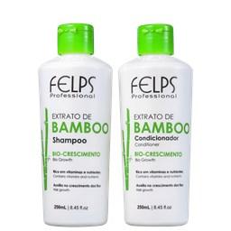 Kit Extrato de Bamboo - Felps Profissional - Shampoo + Condicionador - 250ML