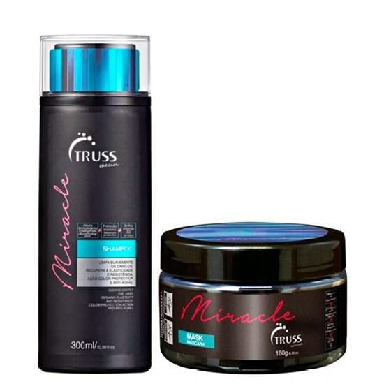 Kit Miracle - Truss - Shampoo 300ml + Máscara 180g