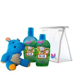 Kit Safari Hyppo Blue - Delikad - Colônia + Sabonete Líquido Citirco
