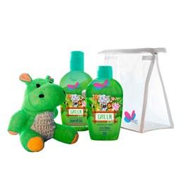 Kit Safari Hyppo Green - Delikad - Colônia + Shampoo