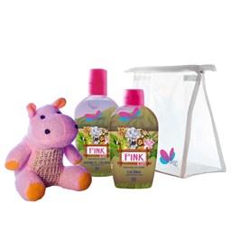 Kit Safari Hyppo Pink - Delikad - Colônia + Sabonete Líquido