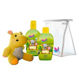 Kit Safari Hyppo Yellow - Delikad - Colônia + Shampoo