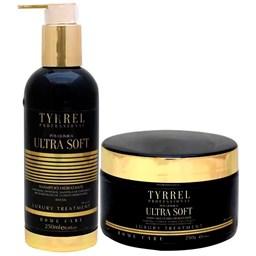 Kit Ultra Soft Manutenção Pós Química - Tyrrel Professional - Shampoo 250ml + Máscara Ultra Hidratante 250g