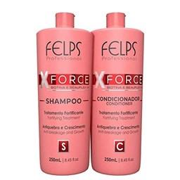 Kit X-Force - Felps Profissional - Shampoo + Condicionador - 250ML