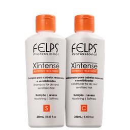 Kit XIntense Nutritive Treatment - Felps Profissional - Shampoo + Condicionador - 250ML