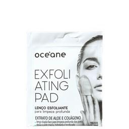 Lenço Esfoliante para Limpeza Profunda Exfoliating Pad - Océane