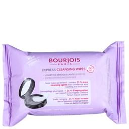 Lenços Demaquilantes Express Cleansing Wipes - Bourjois - 25 Unidades