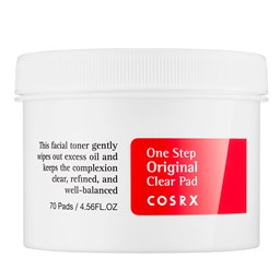 Limpador Facial One Step Original Clear Pads - Cosrx - 70Un