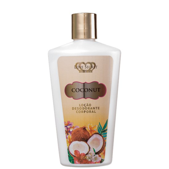 Loção Hidratante Corporal Coconut - Love Secret - 250ml