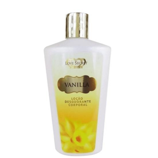 Loção Hidratante Corporal Vanilla - Love Secret - 250ml