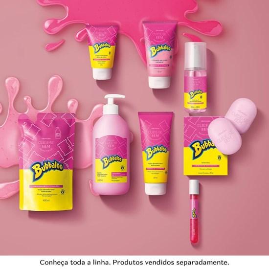 Loção Hidratante Desodorante Corporal - Cuide-se Bem - Bubbaloo Tutti Frutti - Boticário - 400ml