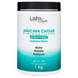 Mascara D' Pantenol Nutrição Light Hair - 1kg