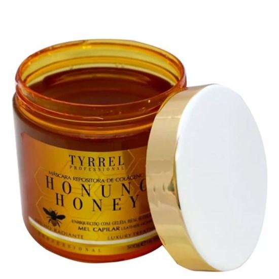 Máscara de Mel Honung Honey Repositora de Colágeno - Tyrrel Professional - 500g