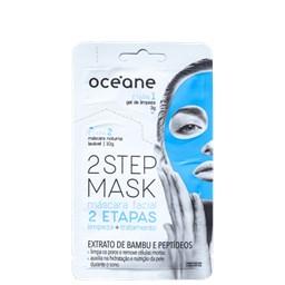 Máscara Facial 2 Step Mask Bambu e Peptídeo 2 Etapas - Océane - 13g