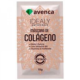 Máscara Facial Antissinais de Colágeno Idealy - Avenca