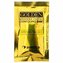 Máscara Hipernutrição Golden 24k  - Avenca - 8g