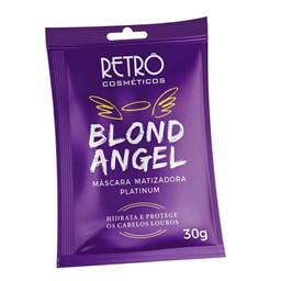 Máscara Matizadora Blond Angel - Retrô Cosméticos - Sache 30g