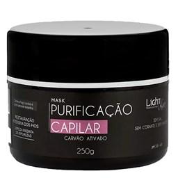 Mascara Purificação Capilar com Carvão Ativado - Light Hair - 250g