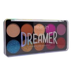 Paleta de Sombras Dreamer - Pink 21 - 18g