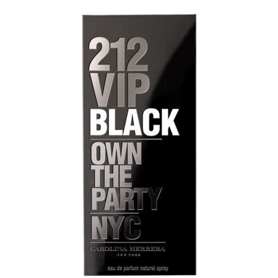 Perfume 212 VIP Black - Carolina Herrera - Masculino - Eau de Parfum - 200ml