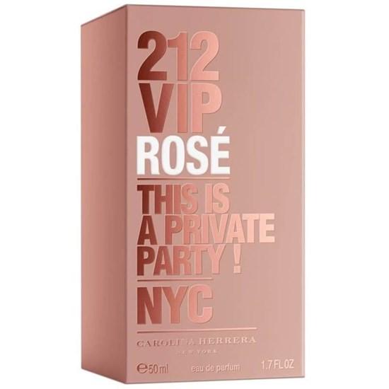 Perfume 212 VIP Rosé - Carolina Herrera - Feminino - Eau de Parfum - 50ml