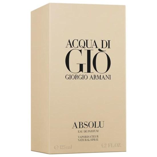 Perfume Acqua di Giò Absolu - Giorgio Armani - Masculino - Eau de Parfum - 125ml